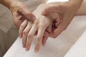 Painful hands due to arthritis