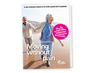 "Free booklet ""Moving without pain"""