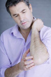 Osteoarthritis in the elbow