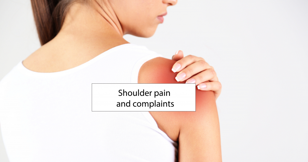 Shoulder pain and complaints: everything that can go wrong